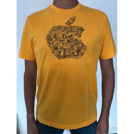 Tee-shirt APPLE Jaune