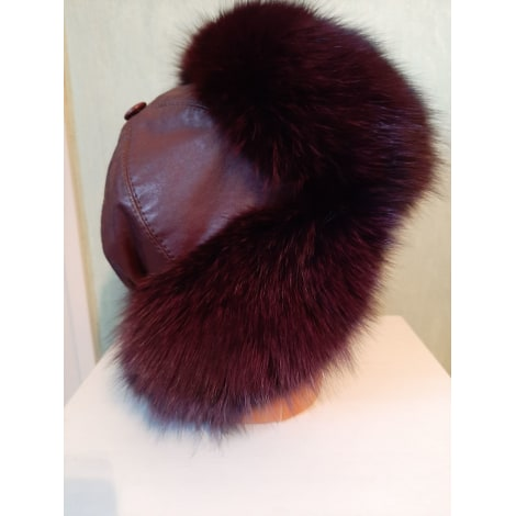 Chapeau MADE IN RUSSE Rouge, bordeaux