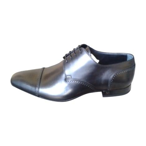 Chaussures à lacets LOUIS VUITTON Noir