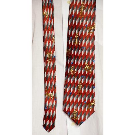 Cravate LOONEY TUNES Rouge, bordeaux