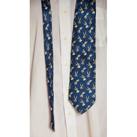 Cravate LOONEY TUNES Bleu, bleu marine, bleu turquoise