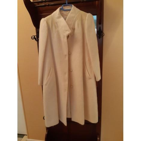Manteau WEILL Blanc, blanc cassé, écru