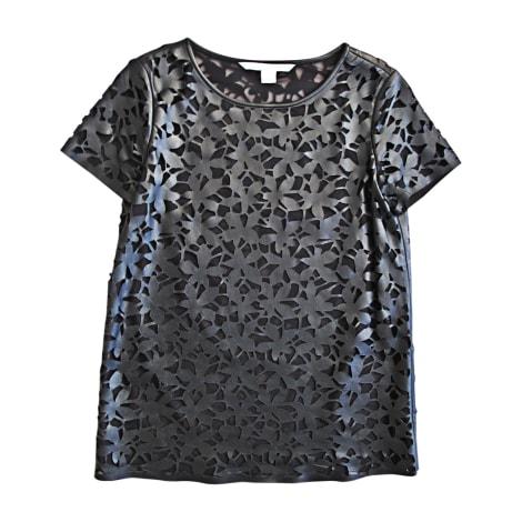 Top, tee-shirt DIANE VON FURSTENBERG Noir