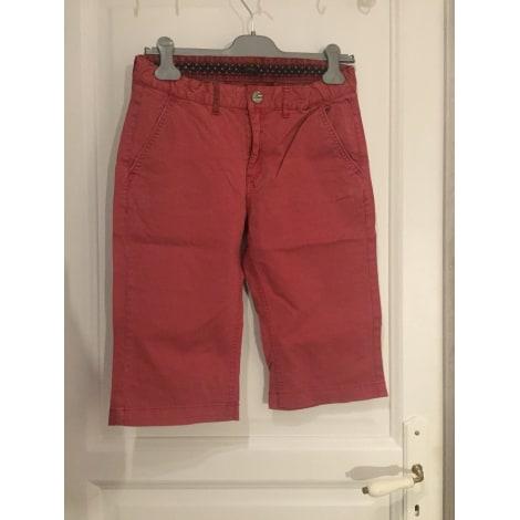 Short IKKS Rouge, bordeaux