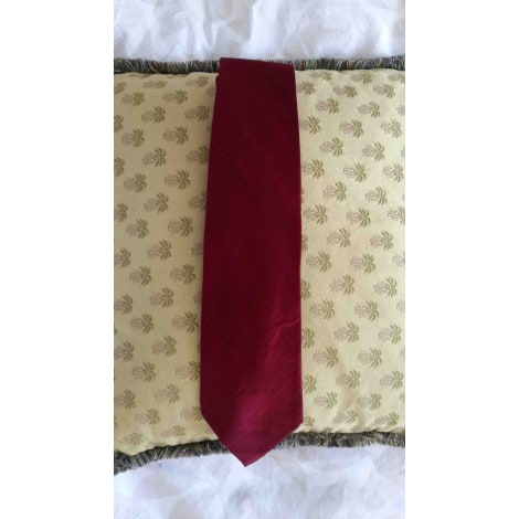 Cravate EMPORIO ARMANI Rouge, bordeaux