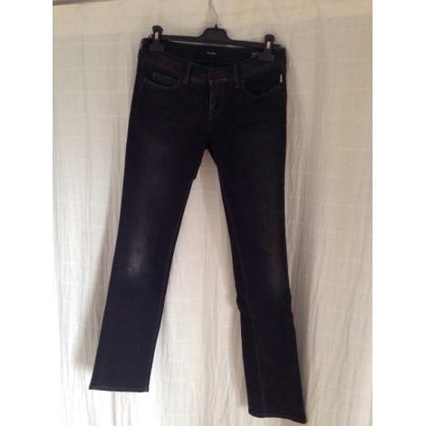 Jeans droit MELTIN' POT Gris, anthracite