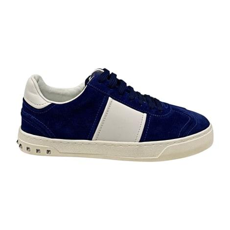 Baskets VALENTINO Bleu, bleu marine, bleu turquoise