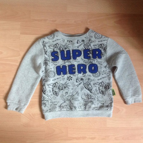 Pull MARVEL Gris, anthracite