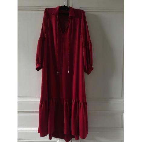 Robe longue GIOVANNI Rouge, bordeaux
