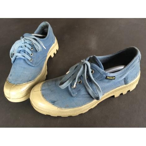 Chaussures à lacets PALLADIUM Bleu vintage