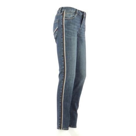 Pantalon droit BERENICE Bleu, bleu marine, bleu turquoise