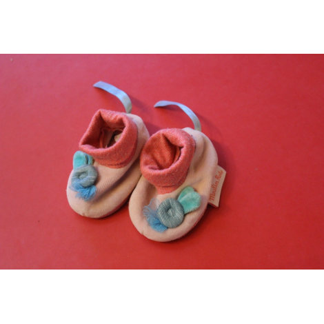 Chaussons MOULIN ROTY Rose, fuschia, vieux rose