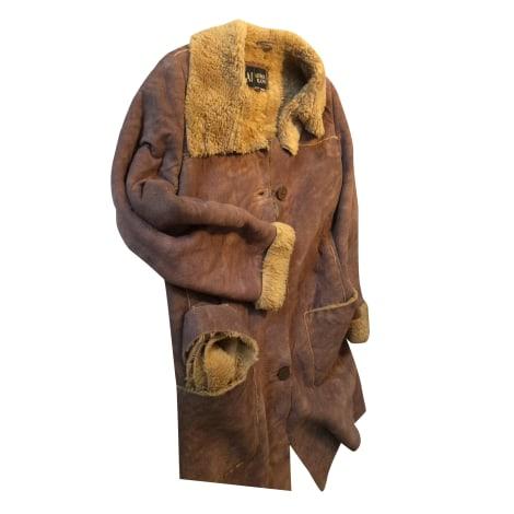 Manteau ARMANI JEANS Beige, camel