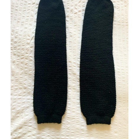 Chausettes genoux AMERICAN APPAREL Noir
