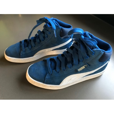 Baskets PUMA Bleu, bleu marine, bleu turquoise