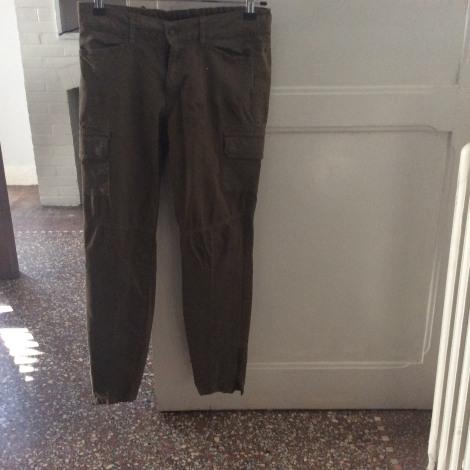 Pantalon slim, cigarette COMPTOIR DES COTONNIERS Kaki