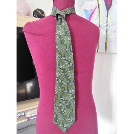 Cravate TED LAPIDUS Kaki
