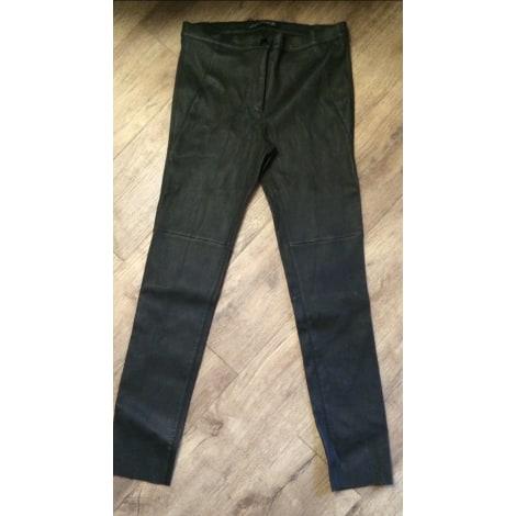 Pantalon slim, cigarette ZARA Noir