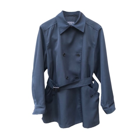 Imperméable, trench MAX MARA Bleu, bleu marine, bleu turquoise