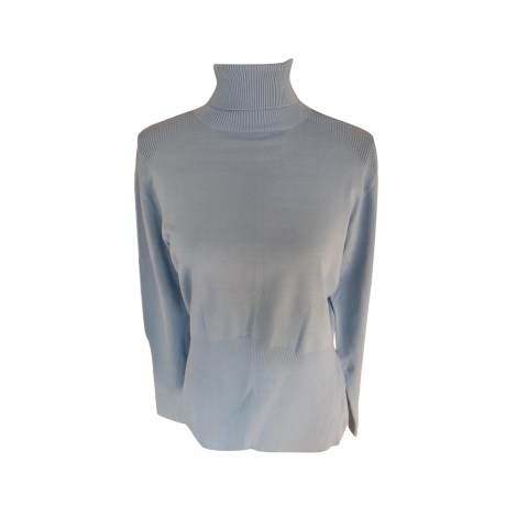 Pull ALAIN MANOUKIAN Bleu, bleu marine, bleu turquoise