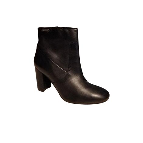 Bottines & low boots à talons PEPE JEANS Noir