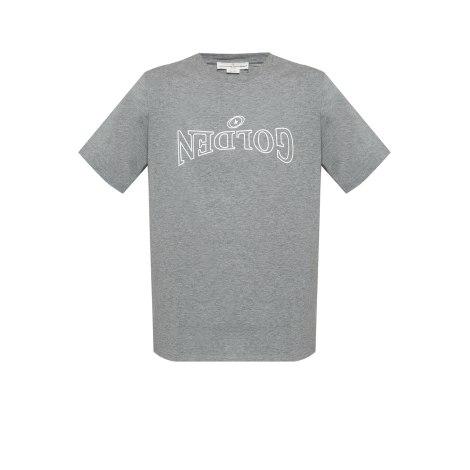 Tee-shirt GOLDEN GOOSE Gris, anthracite