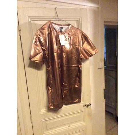 Tee-shirt ASOS Doré, bronze, cuivre