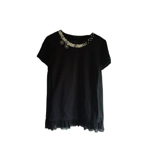 Top, tee-shirt TWIN-SET SIMONA BARBIERI Noir