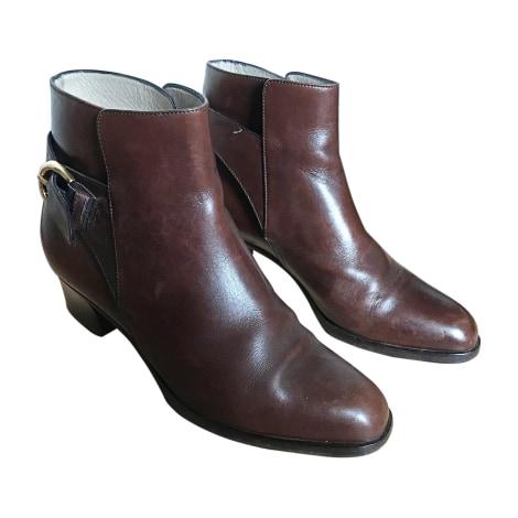 Bottines & low boots à talons BALLY Marron