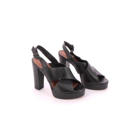 Sandales plates  ANDRÉ Noir