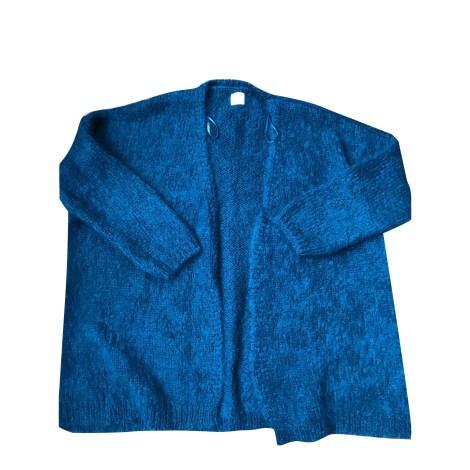 Gilet, cardigan DES PETITS HAUTS Bleu, bleu marine, bleu turquoise