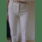 Pantalon large BARBARA BUI Blanc, blanc cassé, écru