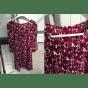 Robe mi-longue SINÉQUANONE Rouge, bordeaux