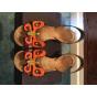Sandales à talons PRADA Multicouleur