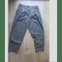 Pantalon large SISLEY Gris, anthracite