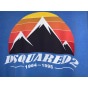 T-shirt DSQUARED2 Blu, blu navy, turchese