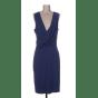 Robe mi-longue ZAPA Bleu, bleu marine, bleu turquoise
