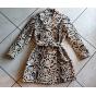 Manteau en fourrure ALAÏA Multicouleur