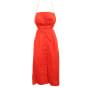 Robe courte  REFORMATION Rouge, bordeaux
