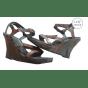Sandales compensées BARBARA BUI Marron