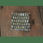 Bracelet TOPSHOP Doré, bronze, cuivre