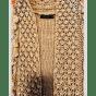 Gilet sans manches ZARA Doré, bronze, cuivre