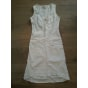 Robe courte LIBERTO Blanc, blanc cassé, écru