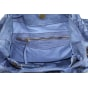 Sac en bandoulière en cuir MADE IN ITALIE Bleu, bleu marine, bleu turquoise