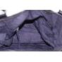 Schultertasche Leder MADE IN ITALIE Schwarz