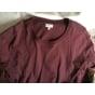 Top, tee-shirt ERES Rouge, bordeaux