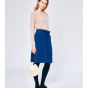 Jupe mi-longue BELLEROSE Bleu, bleu marine, bleu turquoise
