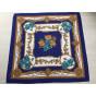 Foulard LORIS AZZARO Bleu, bleu marine, bleu turquoise
