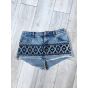 Short en jean ASOS Bleu, bleu marine, bleu turquoise