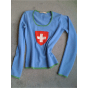Pull FTC CASHMERE Bleu, bleu marine, bleu turquoise